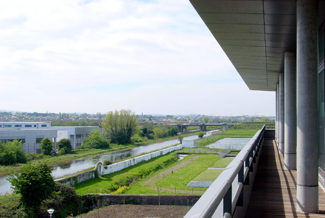 view of canal from 18B balcony
